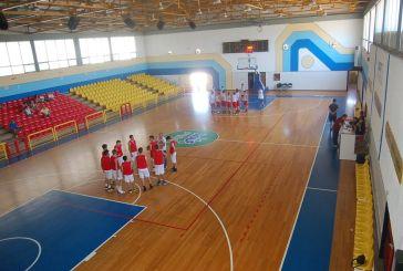 Aνακαίνιση στο ΔΑΚ Μεσολογγίου ενόψει του Πανελλήνιου Πρωτάθληματος Παίδων Μπάσκετ