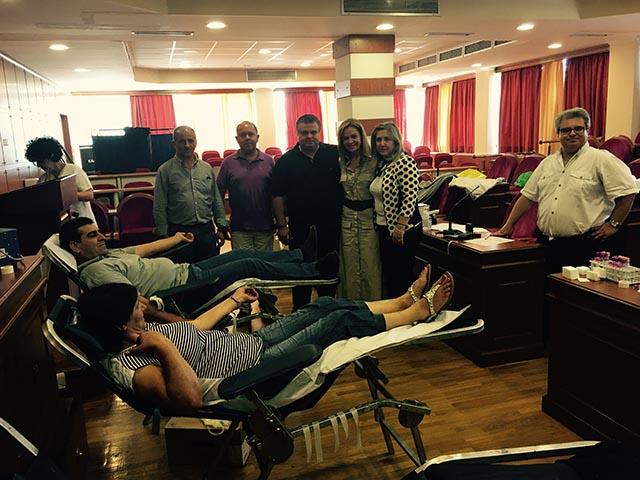 Μεγάλη επιτυχία για την εθελοντική αιμοδοσία στην Π.Ε. Αιτωλοακαρνανίας