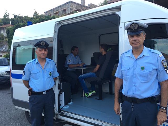 Το εβδομαδιαίο δρομολόγιο της Κινητής Αστυνομικής Μονάδας Ακαρνανίας