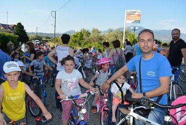 Με επιτυχία η 6η ποδηλατοδρομία σχολικών συλλόγων στο Παναιτώλιο