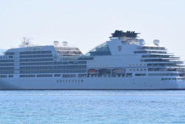 Κατέπλευσε σήμερα στη Λευκάδα το πολυτελές κρουαζιερόπλοιο Seabourn Encore
