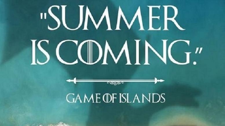 Ποιό Game of Thrones; Ελληνικό καλοκαίρι= Game of Islands (φωτο)