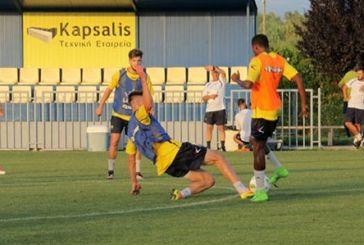 Φυσική κατάσταση και παιχνίδια με μπάλα στις προπονήσεις του Παναιτωλικού