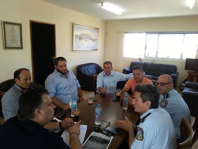 Σύσκεψη για την ενίσχυση του Αστυνομικού Τμήματος Αιτωλικού