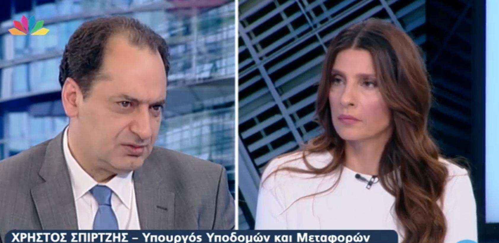 O διάλογος της Τσαπανίδου με τον Σπίρτζη για τη σύνδεση του Αγρινίου με την Ιόνια Οδό