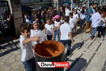 Σφράγισαν τον χρόνο μικροί μαθητές στο Αιτωλικό (φωτο)