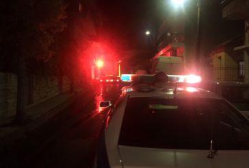 Ζημιές από φωτιά σε όχημα στην οδό Διαμαντή του Αγρινίου