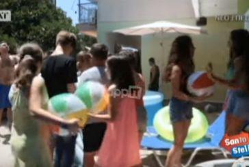 Γιατί ο Χανταμπάκης έστησε beach party σε σπίτι του Αγρινίου (βίντεο)
