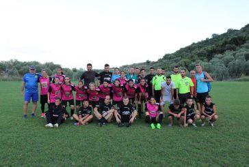 Εγκαίνια του γηπέδου της Ρίγανης με αγώνα μεταξύ ανδρικής και γυναικείας ποδοσφαιρικής ομάδας