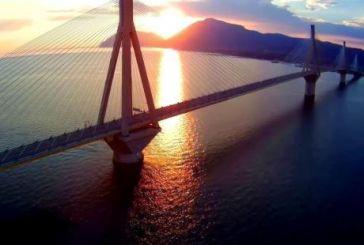 Το μαγικό ηλιοβασίλεμα στη Γέφυρα…