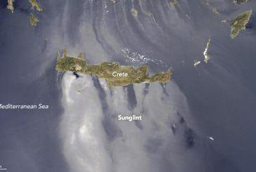 Το απίστευτο φαινόμενο sunlight στο Αιγαίο κατέγραψε η Nasa