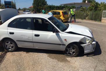 Τροχαίο κοντά στον κόμβο Λεπενούς – Τραυματίστηκαν ελαφρά δύο οδηγοί