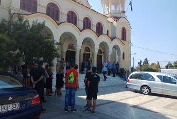 Σε κλίμα  οδύνης στο Αγρίνιο η κηδεία του Ευάγγελου Πρώιμου
