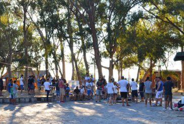 Μεσολόγγι: Πολίτες κάθε ηλικίας εγκαινίασαν το πινγκ πονγκ στο δασάκι