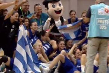 Χρυσό η Εθνική Κωφών Γυναικών στο μπάσκετ