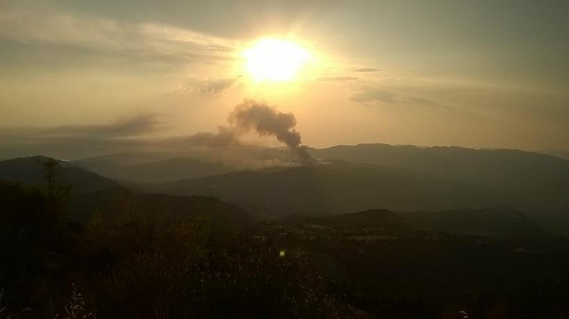 Η φωτιά στα Αμπέλια