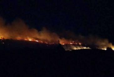Συντονιστικό για τη μεγάλη φωτιά στα Αμπέλια