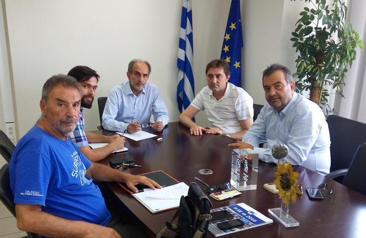 2017.08.08 @ Σύσκεψη με την επιτροπή διεκδίκησης των Παράκτιων Μεσογειακών Αγώνων του 2019