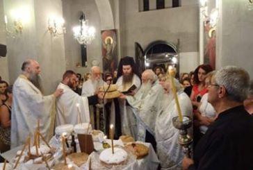 Η Δεσποτική Εορτή της Μεταμορφώσεως του Σωτήρος, στο Αγρίνιο