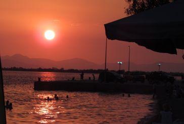 Μαγικό ηλιοβασίλεμα στο Μενίδι
