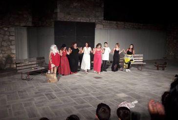 Με επιτυχία η παράσταση από την Θεατρική Ομάδα Καλυβίων στο Δίστομο