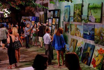 """Τις καλύτερες εντυπώσεις άφησε η έκθεση ζωγραφικής του Πολ. Συλλόγου """"Το Αιτωλικό"""""""