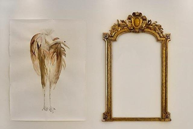 © Μάρω Μιχαλακάκου, Head over heels-Narcissus (Νάρκισσος), 2017 μεικτή τεχνική , μεταβλητές διαστάσεις • mixed media, dimensions variable photo: Fanis Vlastaras, Rebecca Constantopoulou