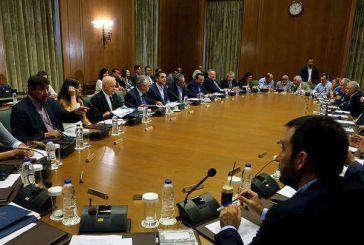 Με διευρυμένη ατζέντα η σημερινή συνεδρίαση του υπουργικού συμβουλίου