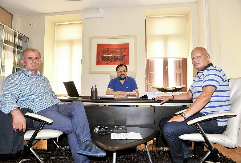 Συνάντηση Γιώργου Σωτηρόπουλου -Διοίκησης ΤΕΕ Αιτωλοακαρνανίας