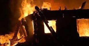 Kάηκε ολοσχερώς αποθήκη με καλαμπόκι στο Δοκίμι