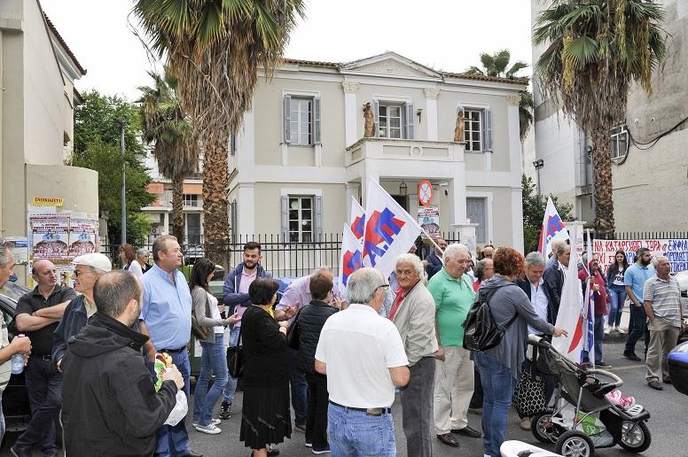 """Κινητοποίηση στο Αγρίνιο ενάντια στα """"χαράτσια, την φορολήστεια και τον ΕΝΦΙΑ"""""""