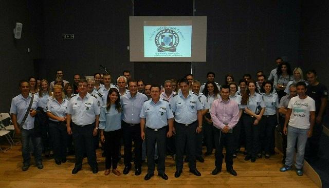 Ενημερωτική επίσκεψη ψυχολόγου της Αστυνομίας στη Γενική Περιφερειακή Αστυνομική Διεύθυνση Δυτικής Ελλάδας