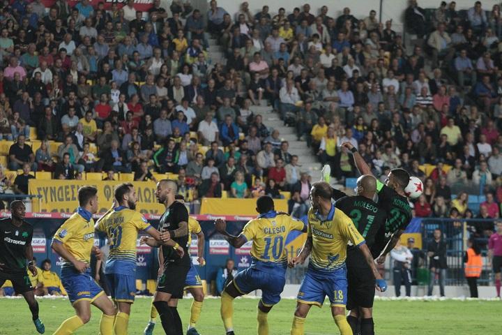 Τα στιγμιότυπα του Παναιτωλικός-Παναθηναϊκός 2-0