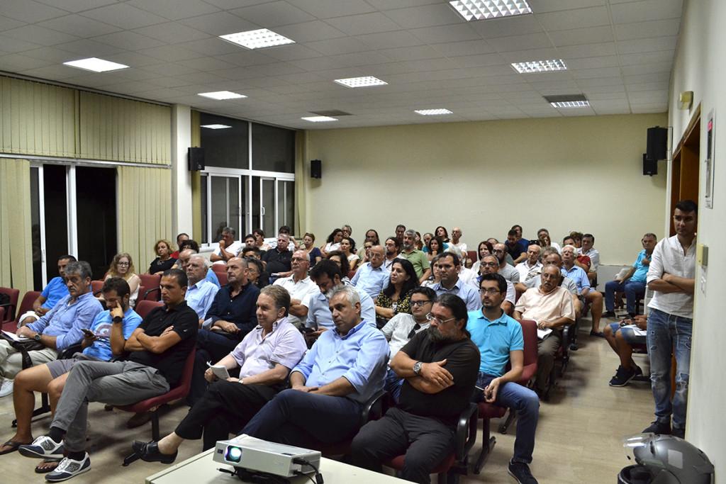 Μεγαλη συμμετοχή στη συνάντηση για τα Βιορευστά στο Μεσολόγγι