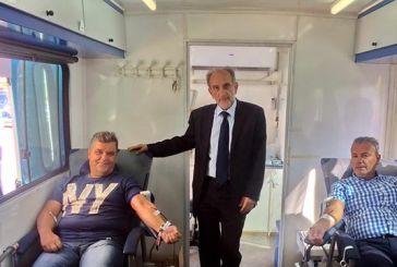 Εθελοντική αιμοδοσία από τους εργαζομένους στην Περιφέρεια – Ημερίδα για τη δωρεά μυελού των οστών