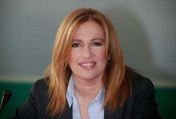 Κατέθεσε επίσημα την υποψηφιότητά της για την ηγεσία της κεντροαριστεράς η Φ. Γεννηματά
