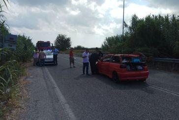 Πέντε άτομα στο νοσοκομείο Αγρινίου από σφοδρή σύγκρουση oχήματος με θεριζοαλωνιστική μηχανή