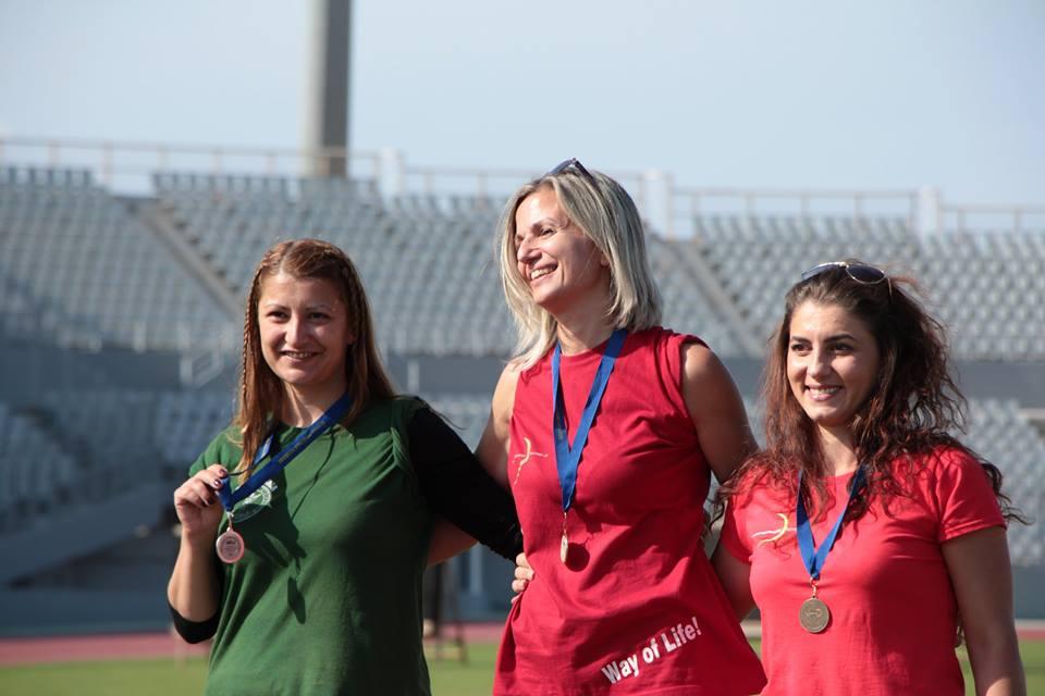 Ασημένιο μετάλλιο στην Πάτρα για την αθλήτρια τοξοβολίας της ΓΕΑ  Γιόλα Γερολυμάτου