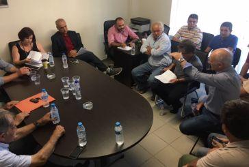 Εποικοδομητική σύσκεψη στον ΓΟΕΒ Αχελώου
