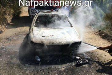 Ναυπακτία: Κάηκαν ολοσχερώς αυτοκίνητα σε Καλλονή και Βλαχομάνδρα