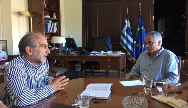 Απ. Κατσιφάρας: «Το Υπουργείο να πάρει θέση για την περιφερειακή διακυβέρνηση»