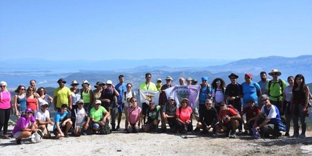 Συνάντηση Ορειβατικών Συλλόγων Δυτικής Ελλάδας και Ηπείρου στην Καρυά Λευκάδας