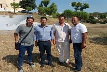 Συνάντηση του Δημάρχου Αγρινίου με το Δ.Σ. του Ιωνικού Αγρινίου