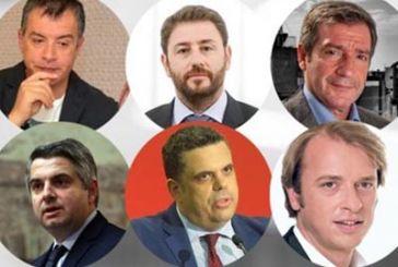 Aναλυτικά και ανά περιφέρεια οι υπογραφές των υποψήφιων αρχηγών Κεντροαριστεράς
