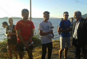 Πρώτος ο Παναιτωλιώτης Δημήτρης Μπεκούλης στα 5χλμ του 11ου γύρου της λιμνοθάλασσας Αιτωλικού