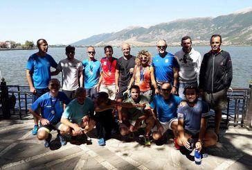 Δυναμικό «παρών» του Συλλόγου Δρομέων Υγείας Αγρινίου στον 11ο γύρο της λίμνης Ιωαννίνων