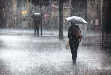 Πρόγνωση καιρού: Βροχές και καταιγίδες το Σαββατοκύριακο στην Αιτωλοακαρνανία