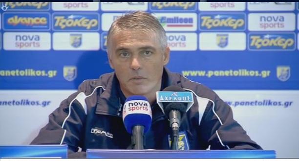 Live η συνέντευξη Τύπου του Παναιτωλικός-Παναθηναϊκός 2-0