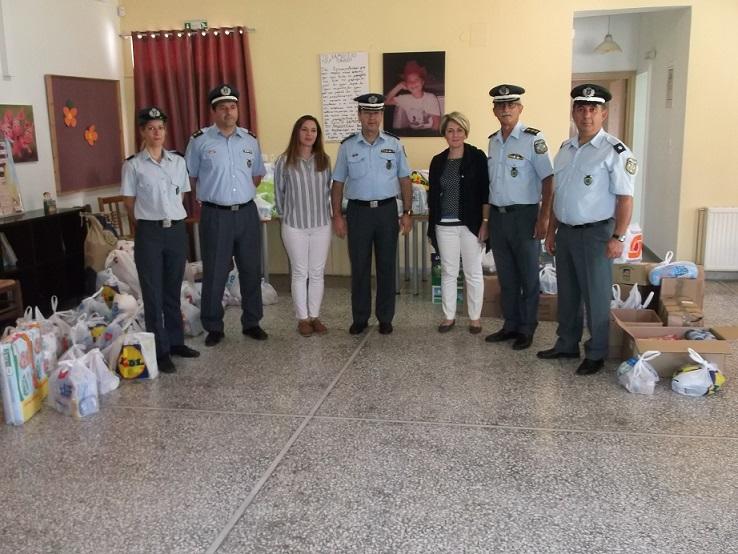 Η  Αστυνομία στο πλευρό του οργανισμού  «Το Χαμόγελο του Παιδιού»