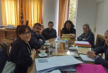 Σύσκεψη στο Θέρμο για την αξιοποίηση  του χώρου της γέφυρας στο  Βαλτσόρεμα